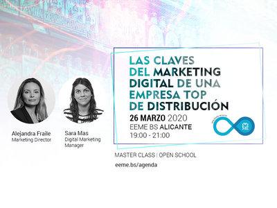 Master Class: Las claves del Marketing Digital en una empresa top de distribución