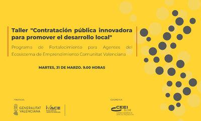 Taller: Contratación pública innovadora para promover el crecimiento empresarial local
