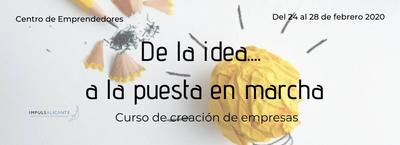 Curso De la idea a la puesta en marcha