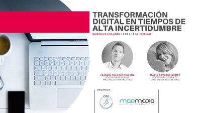 Transformación digital en tiempos de incertidumbre