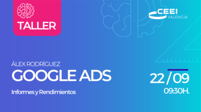 Taller Informes y Rendimientos Google Ads On LIne
