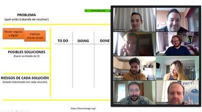 Sesión de mentoring online en el Espai Coworking Benidorm