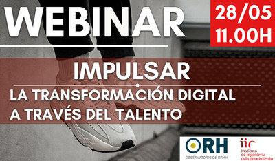 Webinar: Impulsar la transformación digital a través del talento