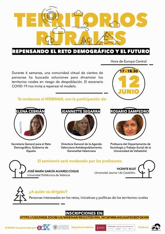 Territorios rurales: repensando el reto demográfico y el futuro