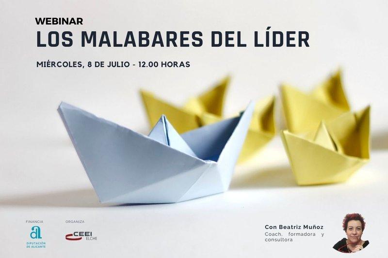 Inscríbete en el webinar Los Malabares del lÍder
