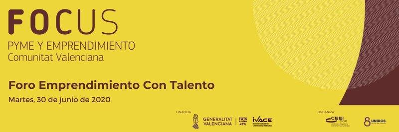¡Participa en el I Foro Emprendimiento con Talento ! Próximo 30 de junio  a las 10 horas