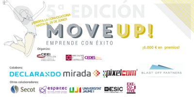 move up
