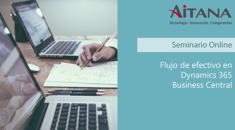 Webinar Flujo de efectivo en Dynamics 365 Business Central