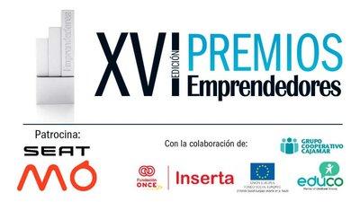 Acto de entrega XVI Edición de los Premios Emprendedores