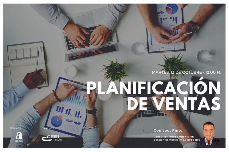 Te invitamos a nuestro próximo webinar sobre planificación de ventas