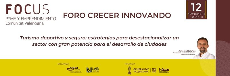 Estrategias para desestacionalizar el turismo! Vente a la IV Sesión del Foro Crecer Innovando