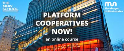 Platform Cooperatives Now - 2ª edición