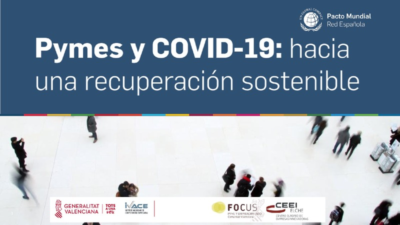 Pymes y Covid-19: hacia una recuperación sostenible (Portada)