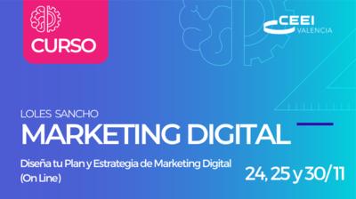 Curso Diseña tu Plan Y Estrategia de Marketing Digital