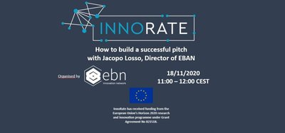 Webinar: How to build a successful pitch
