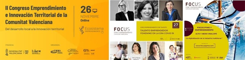 Emprendimiento, Innovación y Crecimiento ¡Te invitamos a nuestros próximos eventos!
