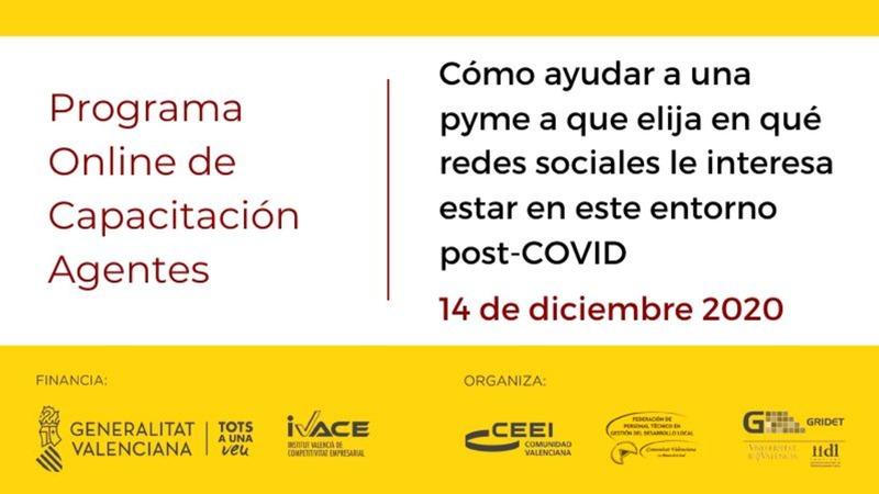 Presentación Cómo ayudar a una pyme a que elija en qué redes sociales le interesa estar en este entorno post-COVID