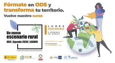 """Curso """"Un nuevo escenario rural: ODS, Agenda 2030 y LEADER"""""""