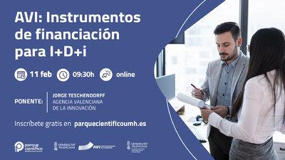 AVI: Instrumentos de financiación para I+D+i