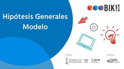 Hipótesis Generales del modelo de negocio