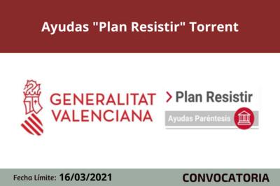 "Ayudas ""Plan Resistir"" Torrent"