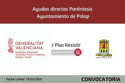 Ayudas Económicas Covid 19 - Ayuntamiento de Polop