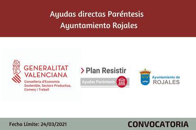 Ayudas Económicas Covid 19 - Ayuntamiento de Rojales