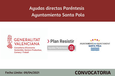Ayudas Económicas Covid 19 - Ayuntamiento de Santa Pola