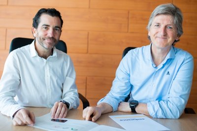 Fundadores Ander Muelas y Carlos Navarro Endurance Motive