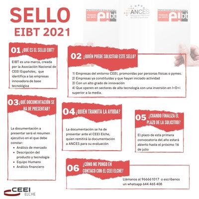 Sello EIBT 2ª EDICION 2021
