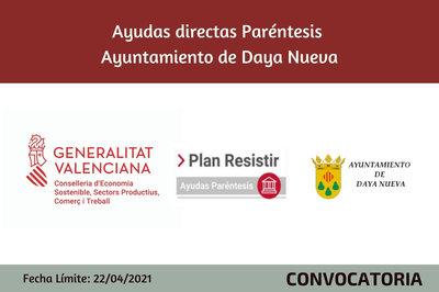 Ayudas Económicas Covid 19 - Ayuntamiento de Daya Nueva