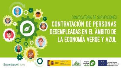 Convocatoria de Ayudas de 5 millones de euros para contribuir a una recuperación verde y azul