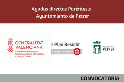 Ayudas Económicas Covid 19 - Ayuntamiento Petrer