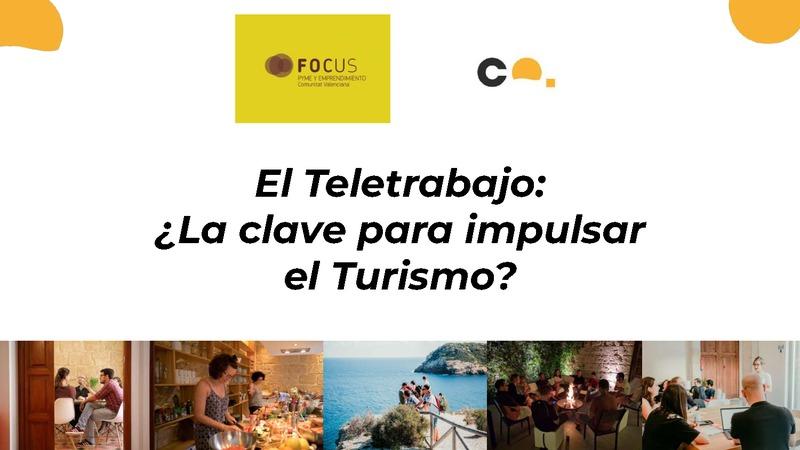 El teletrabajo ¿ la clave para impulsar el turismo? (Portada)