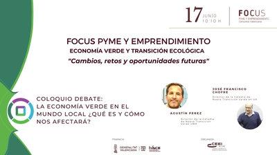 Coloquio Debate Economía Verde